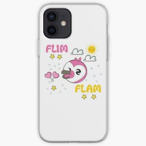 Flim flam flamingo iPhone Soft Case RB0106 product Offical Flim-Flam Merch