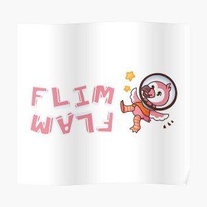 Flim flam flamingo bird Poster RB0106 product Offical Flim-Flam Merch