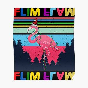 Flim Flam Christmas Lights Poster RB0106 product Offical Flim-Flam Merch