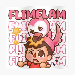Flim Flam  Poster RB0106 product Offical Flim-Flam Merch