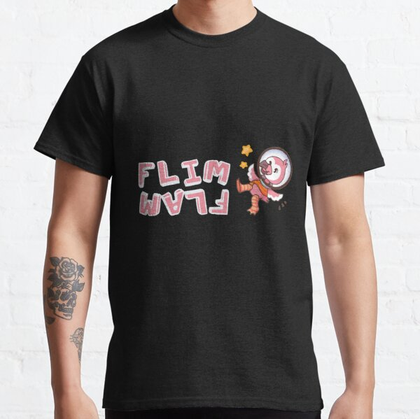 Flim flam flamingo bird Classic T-Shirt RB0106 product Offical Flim-Flam Merch