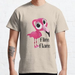 flim flam flamingo - flim flam youtube  -  flim flam kids Classic T-Shirt RB0106 product Offical Flim-Flam Merch