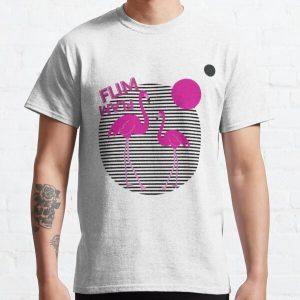 FLIM FLAM Retro Sunset FLAMINGO Classic T-Shirt RB0106 product Offical Flim-Flam Merch