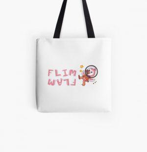 Flim flam flamingo bird All Over Print Tote Bag RB0106 product Offical Flim-Flam Merch
