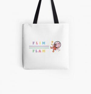 Flim flam flamingo bird youtube All Over Print Tote Bag RB0106 product Offical Flim-Flam Merch
