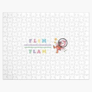 Flim flam flamingo bird youtube Jigsaw Puzzle RB0106 product Offical Flim-Flam Merch