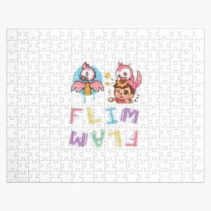 Flim flam flamingo with albert Jigsaw Puzzle RB0106 product Offical Flim-Flam Merch