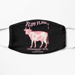 Flim Flam Flamingo Youtuber Flat Mask RB0106 product Offical Flim-Flam Merch