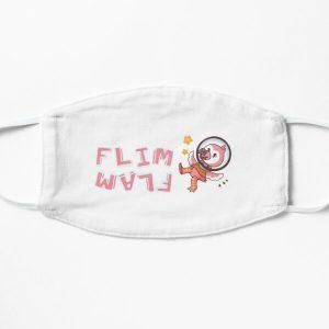 Flim flam flamingo bird Flat Mask RB0106 product Offical Flim-Flam Merch
