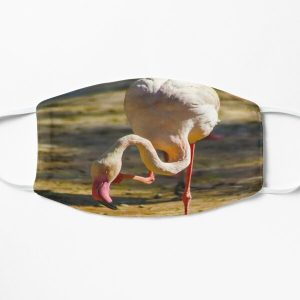 flim flam flamingo Flat Mask RB0106 product Offical Flim-Flam Merch